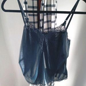 Petticoat Junction silk camisole
